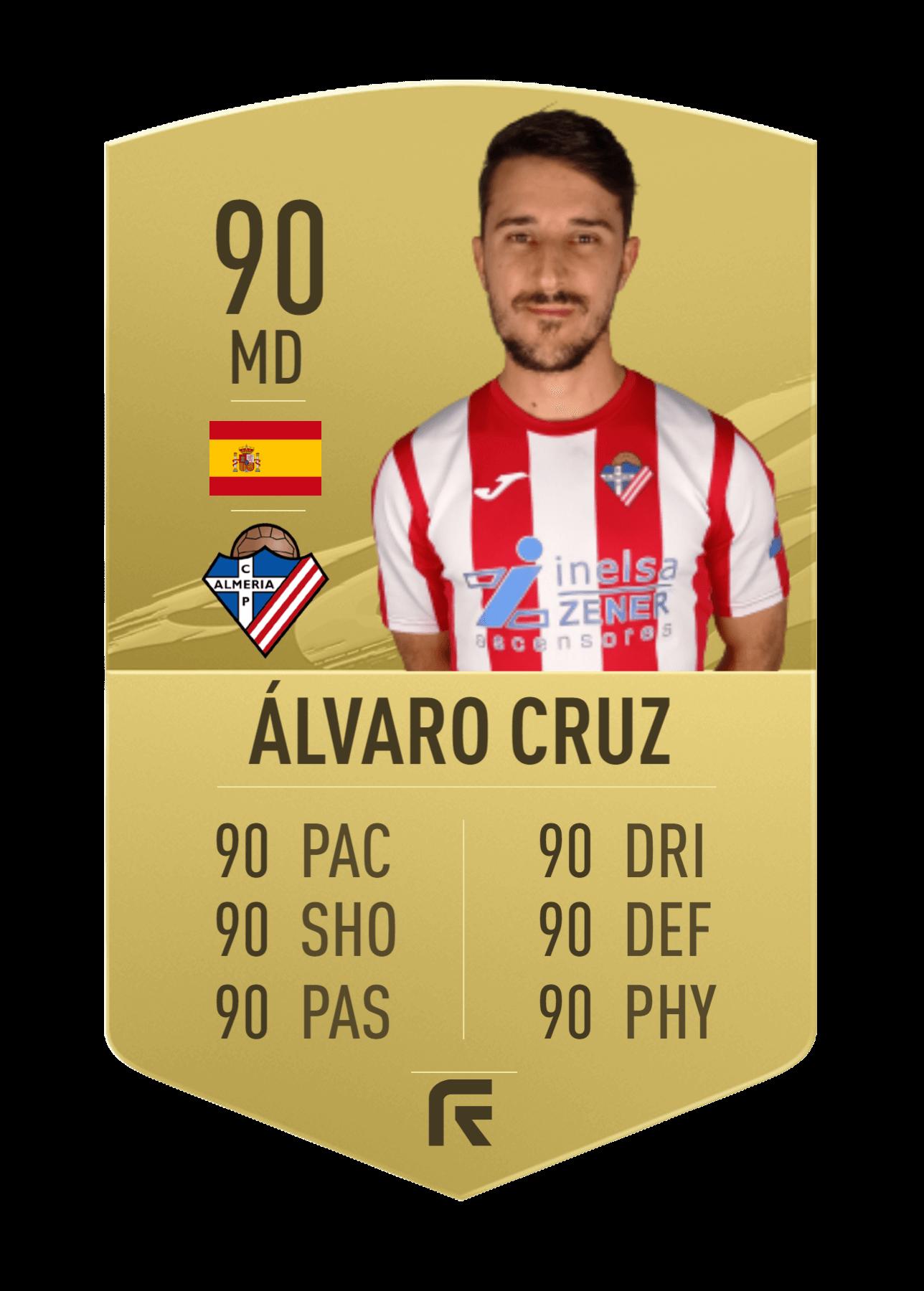 Alvaro Cruz cromo