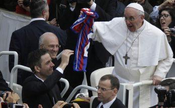 San Lorenzo y el Papa