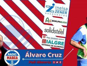 Alvaro cruz en radio marca almeria