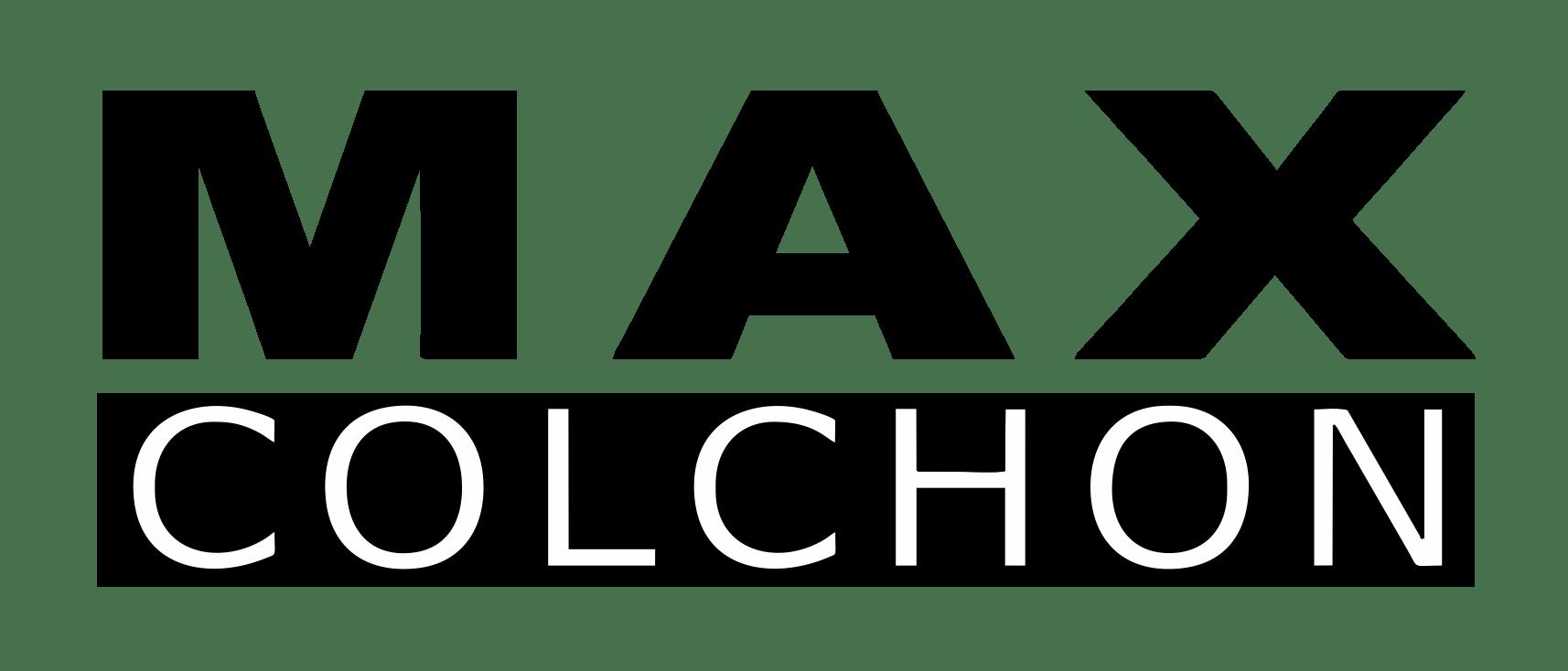 Max Colchon monocromo negro