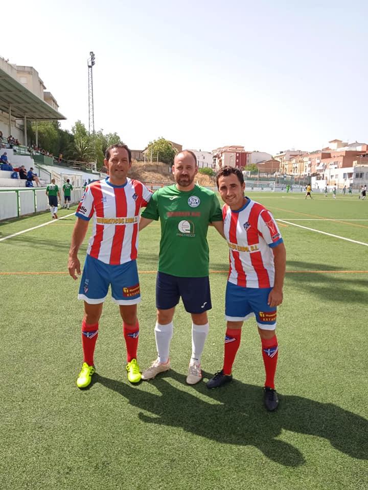 Popi Caballero y _ en el torneo Ciudad de Alhambra 2021
