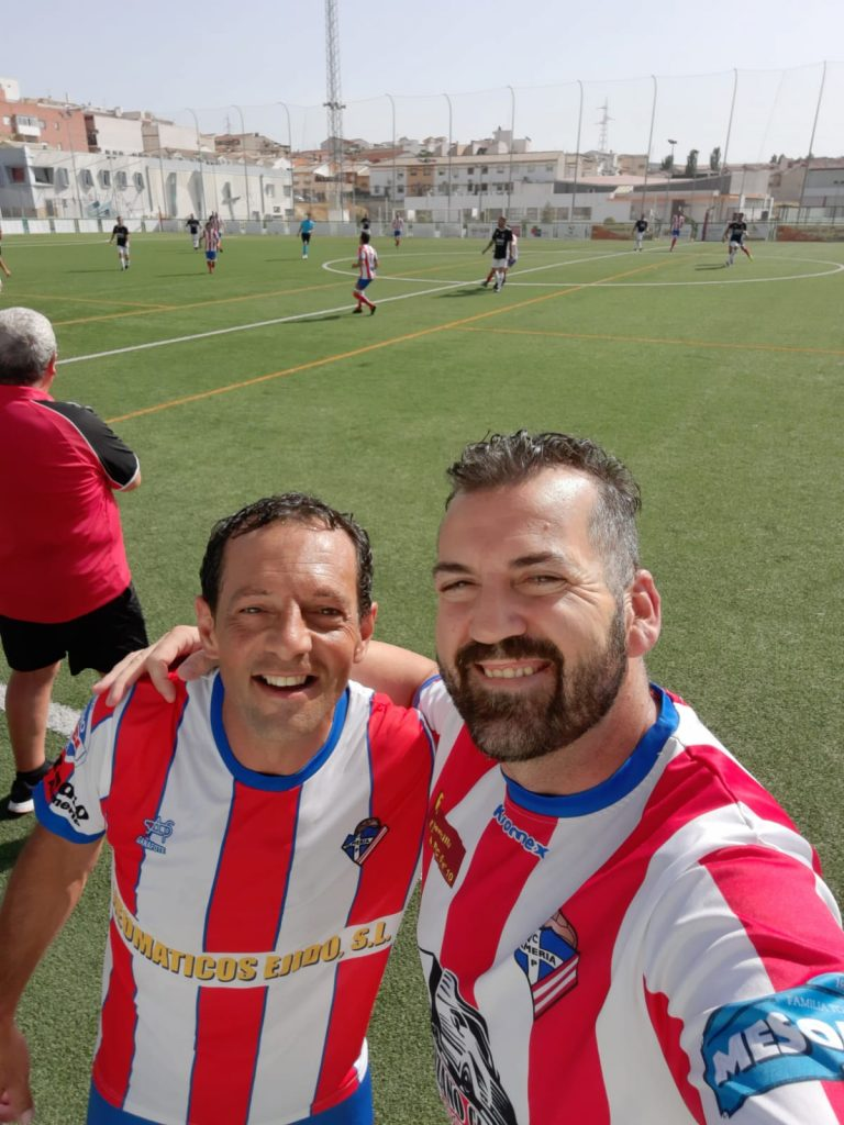 Popi Caballero y Alejandro Iribarne